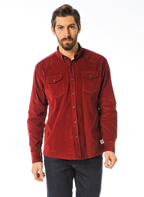 Mustang Gömlek Kırmızı